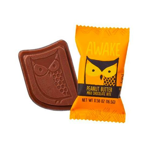 Awake - Caffeinated Chocolate Bars (Peanut Butter Chocolate Bites) - Grassroots Baby
