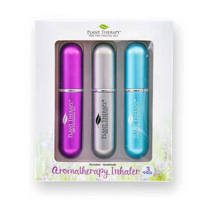 Plant Therapy - Aromatherapy Inhalers 3-Pack (Multi)