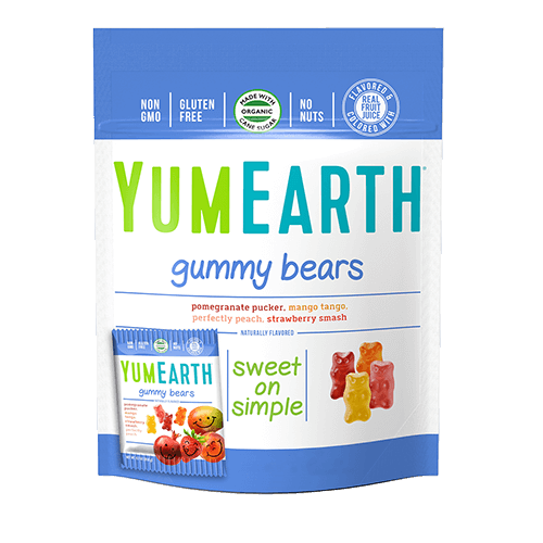 YumEarth - Organic Gummy Bears-YumEarth-5 (0.7oz) Snack Packs-Grassroots Baby