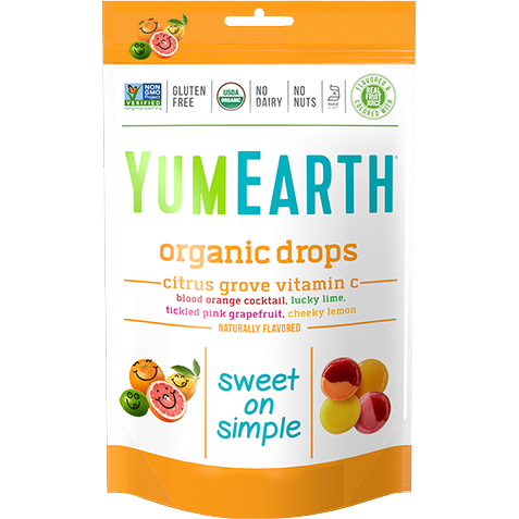 YumEarth - Organic Hard Candies (Vitamin C - Citrus Grove)