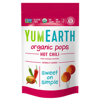 YumEarth - Organic Lollipops (Hot Chili Mango) - Grassroots Baby