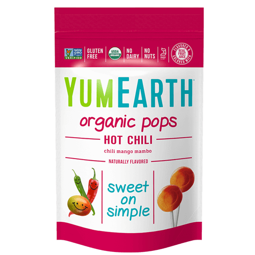 YumEarth - Organic Lollipops (Hot Chili Mango)