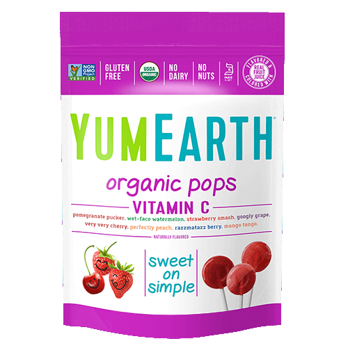 YumEarth - Organic Pops w/ Vitamin C