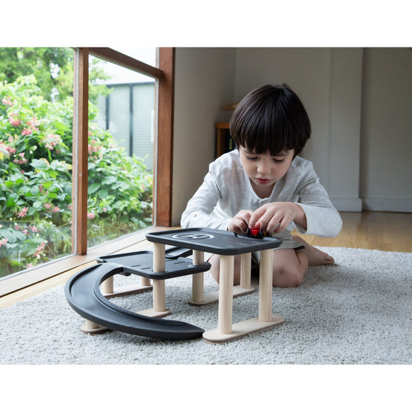 PlanToys - Race n Play Parking Garage