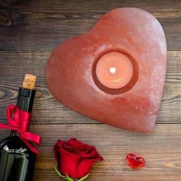 Himalayan Secrets - Tealight Candle Holder (Heart)