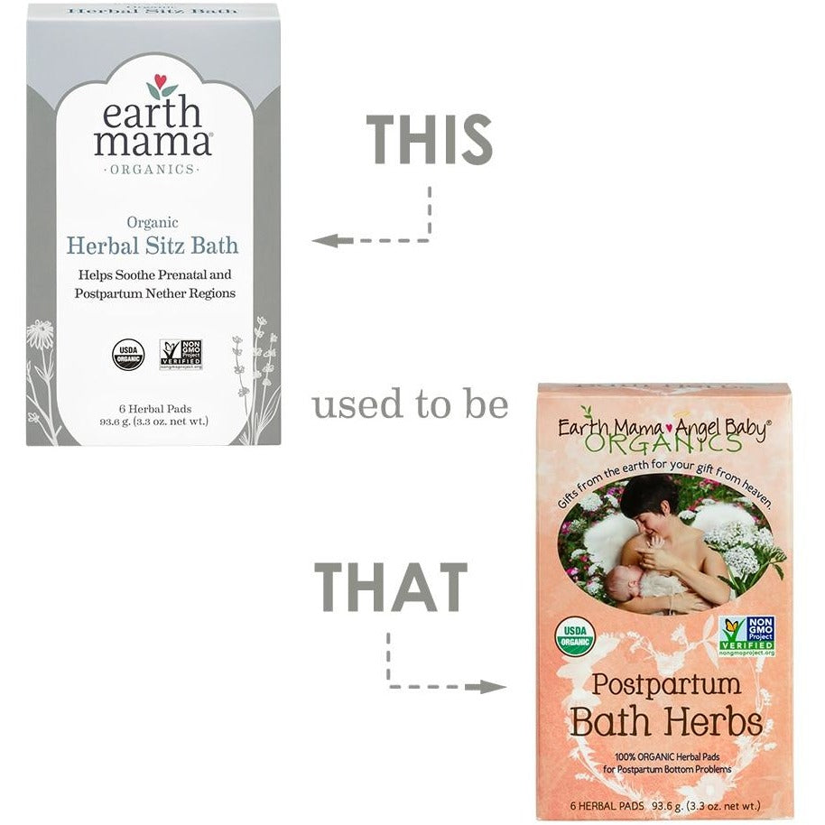 Earth Mama - Organic Herbal Sitz Bath - Grassroots Baby
