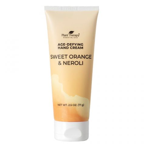 Plant Therapy - Age-Defying Hand Cream (Sweet Orange & Neroli)-Plant Therapy-2.5oz Tube-Grassroots Baby