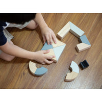 PlanToys - Twisted Blocks-PlanToys-Grassroots Baby