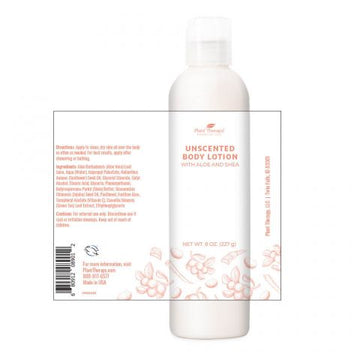 Plant Therapy - Body Lotion with Aloe and Shea (Unscented)