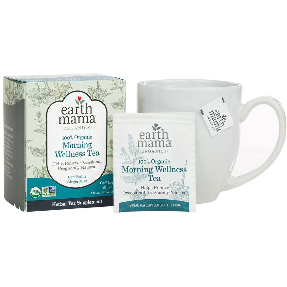 Earth Mama - Morning Wellness Tea - Grassroots Baby