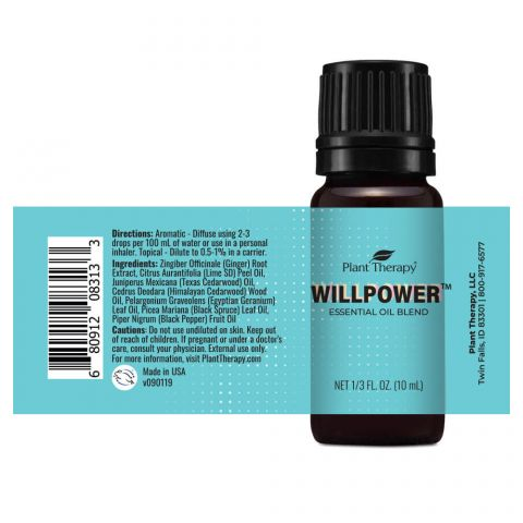 Plant Therapy - Willpower Essential Oil Blend 10mL* - Grassroots Baby