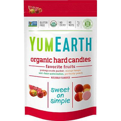 YumEarth - Organic Hard Candies (Favorite Fruits) - Grassroots Baby