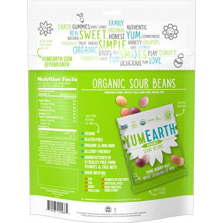 YumEarth - Organic Sour Beans - Grassroots Baby