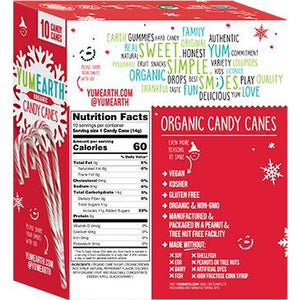 YumEarth - Organic Candy Canes