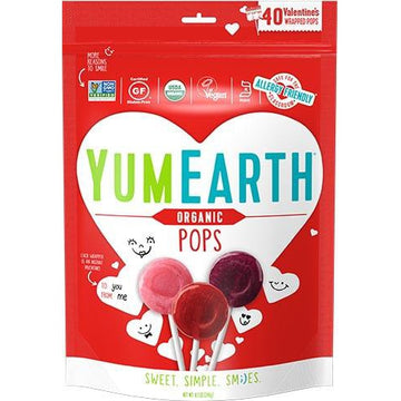 YumEarth - Organic Valentine's Fruit Pops
