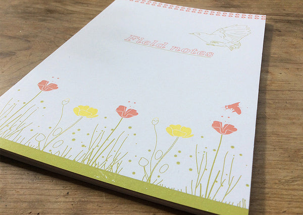 A5 Bird Notebook - Field notes