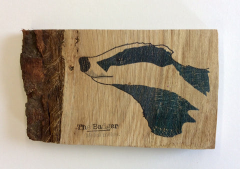 Badger Wood Art