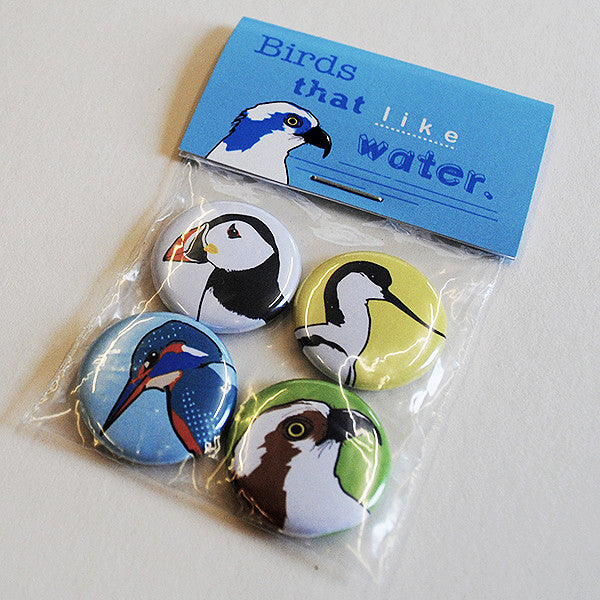 Badges - Birds that like water
