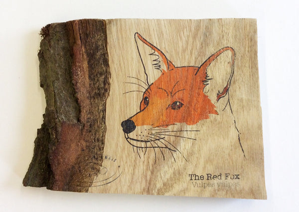 Fox Wood Art
