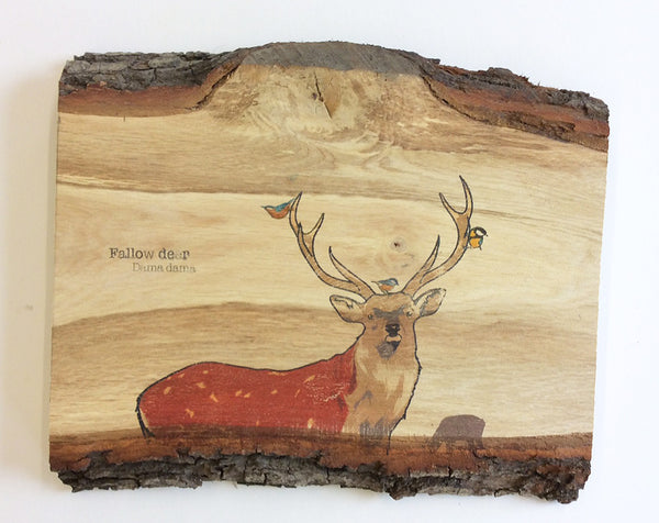 Stag Wood Art