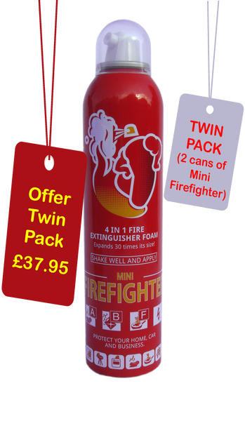 Mini Firefighter Twin Pack Offer with free shipping
