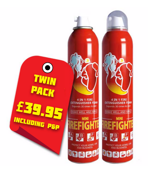 TWIN PACK OFFER! Mini Firefighter - 250ml Twin Pack