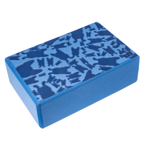 French Bull EVA Foam Yoga Block - Happy Terrazzo