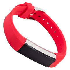 WITHit Silicone Band for Fitbit Alta in Smooth Red