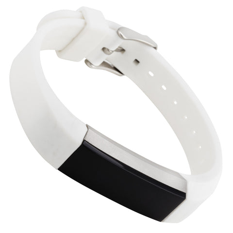 WITHit Silicone Band for Fitbit Alta in Smooth White
