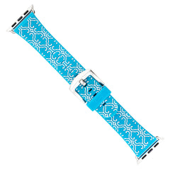 XO Your SIster Designer Band for 38mm Apple® Watch™ - Blue Arabesque