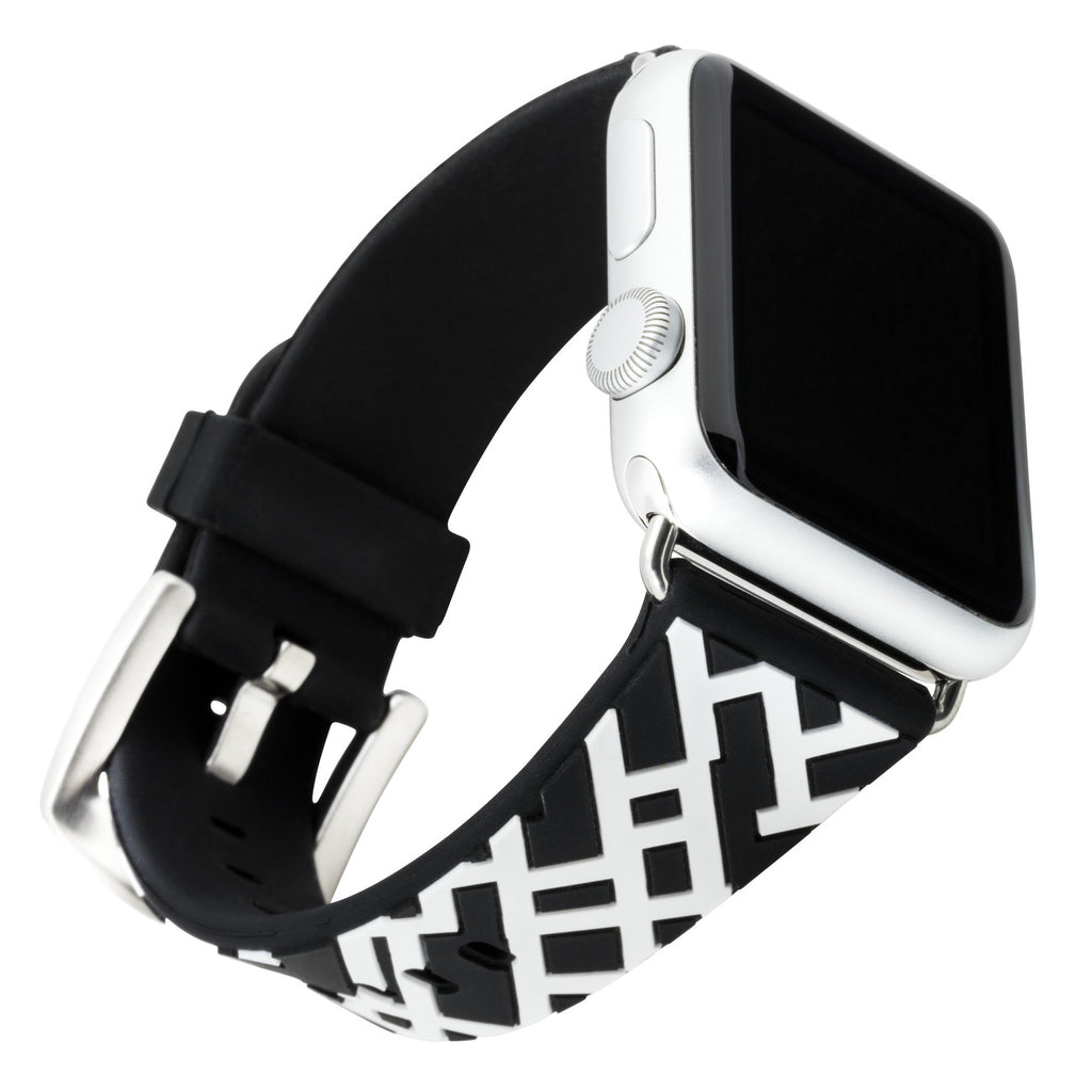XO Your SIster Designer Band for 38mm Apple® Watch™ - Black Lattice