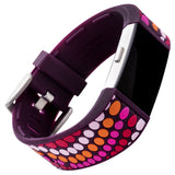Designer Silicone Band for Fitbit Charge 2 by French Bull in Bindi