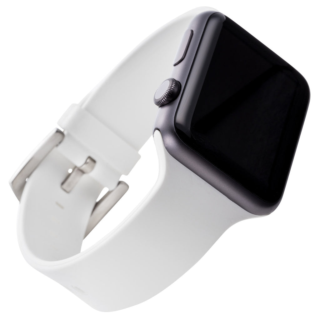 WITHit Silicone Band for 42mm Apple® Watch™ - Smooth White