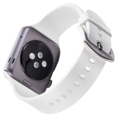 WITHit Silicone Band for 38mm Apple® Watch™ - Smooth White