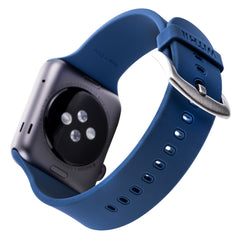 WITHit Silicone Band for 42mm Apple® Watch™ - Smooth Navy Blue