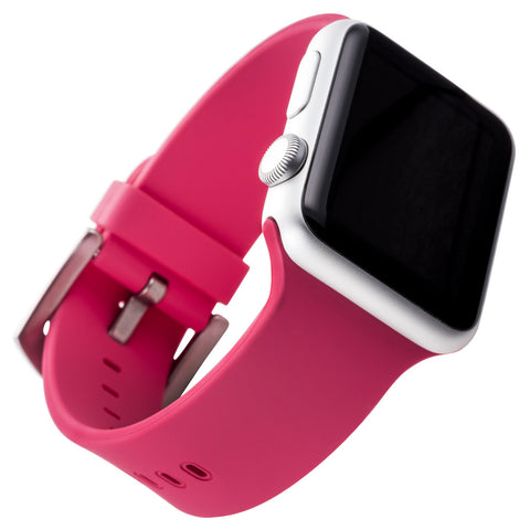 WITHit Silicone Band for 38mm Apple® Watch™ - Smooth Pink