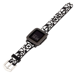 Pebble Watch Band by French Bull - Vine Black  -French Bull Designer Band for use with Pebble Time and Pebble Watch, Smartwatch band