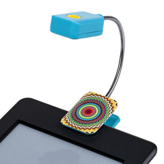 LED Book and Reading Light by French Bull - Mosaic Zig