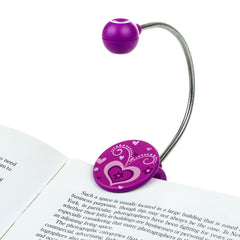 Disc Reading Light by WITHit - Heart Pattern