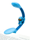 Rechargeable Reading Light by French Bull - Light Blue Monkey Sculpt