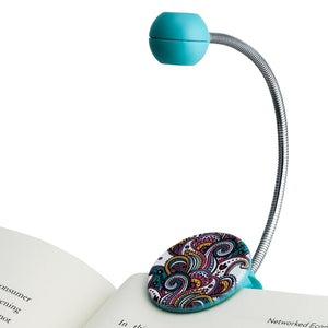 Disc Reading Light, Paisley Pattern by WITHit