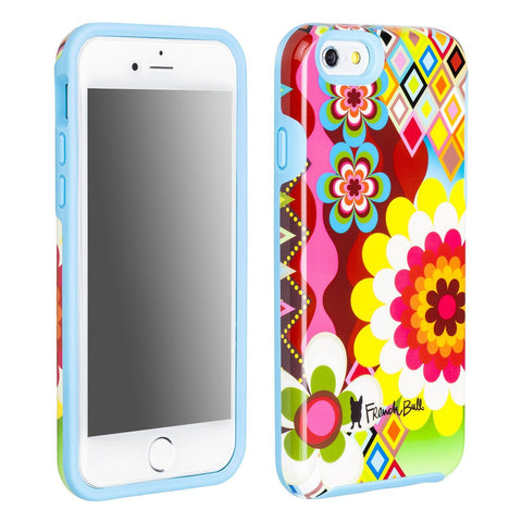 iPhone 6/iPhone 6s Dual Layer Protective Cover by French Bull - Mosaic Flower Pattern