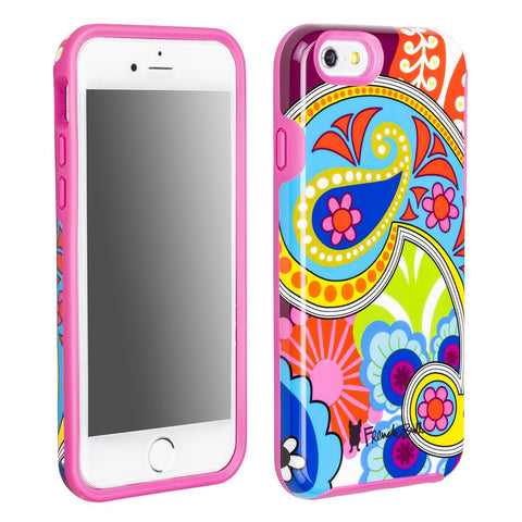 iPhone 6/6s Dual Layer Protective Cover by French Bull - Raj Paisley Pattern