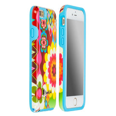 iPhone 6/6s Dual Layer Protective Cover by French Bull - Mosaic Flower Pattern