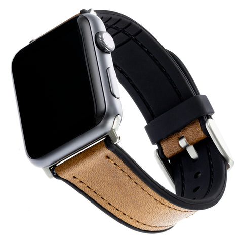 WITHit Leather Band for 42 or 44mm Apple® Watch™ - Brown