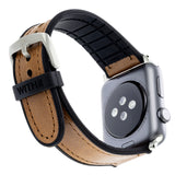 WITHit Leather Band for 42 or 44mm Apple® Watch™ - Brown Hybrid Leather