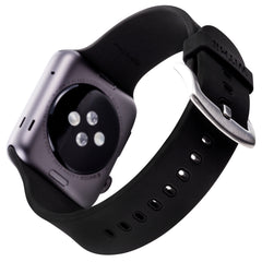 WITHit Silicone Band for 42 or 44mm Apple® Watch™ - Black