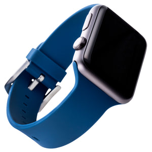 WITHit Silicone Band for 42 or 44mm Apple® Watch™ - Navy