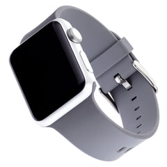 WITHit Silicone Band for 38 or 40mm Apple® Watch™ - Light Gray