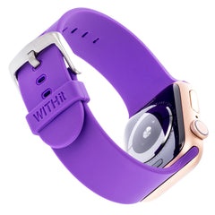 WITHit Silicone Band for 38 or 40mm Apple® Watch™ - Lavender